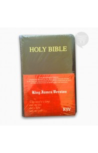 KJV HOLY BIBLE COMPACT, BLACK, (BL)