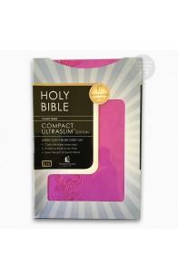 KJV COMPACT ULTRASLIM BIBLE VIOLET LS
