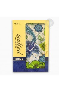 NIV QUILTED COLLECTION BIBLE, COMPACT,BLUE PAISLEY, (FC)