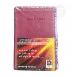 NLT HOLY BIBLE COMPACT PU WINE BERRY