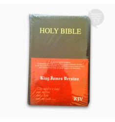 KJV HOLY BIBLE MEDIUM, BURGUNDY, (BL)