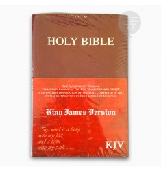 KJV HOLY BIBLE COMPACT, BURGUNDY, (PB)