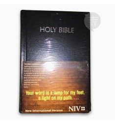 NIV HOLY BIBLE COMPACT, BLACK (BL)