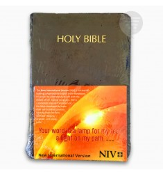 NIV HOLY BIBLE COMPACT, BURGUNDY (BL)