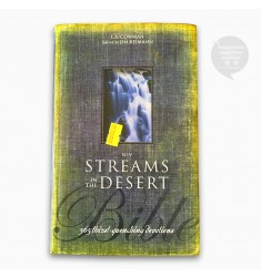NIV STREAMS IN THE DESERT BIBLE, BLACK, (HC)