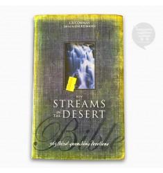 NIV STREAMS IN THE DESERT BIBLE, BLACK, (HC)