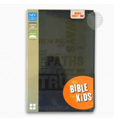 Holy Bible: New International Version, Slate Blue, Italian Duo-Tone, Bible for Kids-NIV