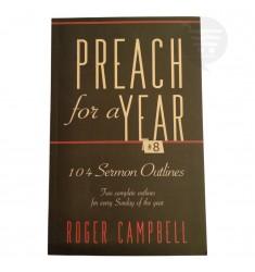 PREACH FOR A YEAR # 8