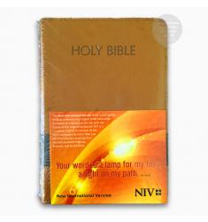 NIV HOLY BIBLE MEDIUM, EXPRESSO/CHOCOLATE (PU)