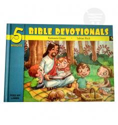 5 MINUTE BIBLE DEVOTIONALS # 5