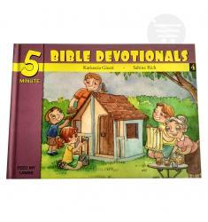 5 MINUTE BIBLE DEVOTIONALS # 4
