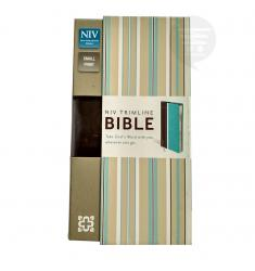 NIV TRIMLINE BIBLE TURQUOISE/CHOCOLATE (DUO-TONE):TAKE GOD'S WORD WITH YOU WHEREVER YOU GO.